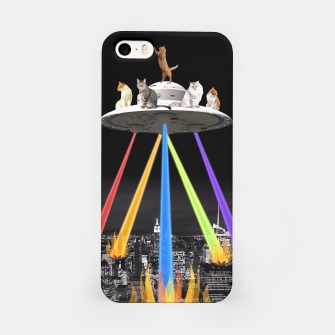 Thumbnail image of CAT INVADERS iPhone Case, Live Heroes