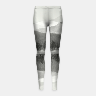 Thumbnail image of Rocky Mountain Girl's Leggings, Live Heroes