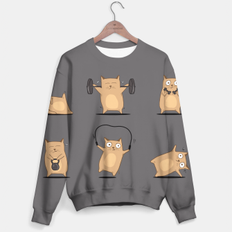 Thumbnail image of FITNESS CAT Sweater, Live Heroes