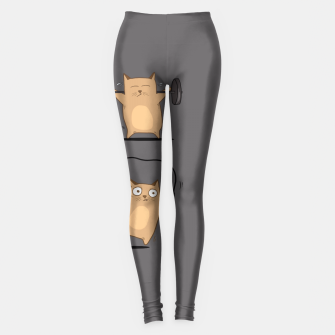 Thumbnail image of FITNESS CAT Leggings, Live Heroes
