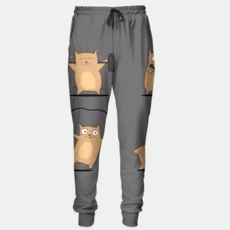 Thumbnail image of FITNESS CAT Sweatpants, Live Heroes