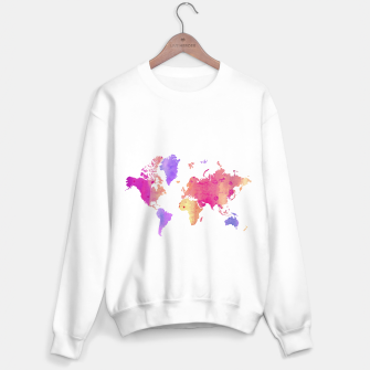 Thumbnail image of WORLD MAP Sweater regular, Live Heroes