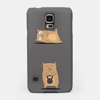 Thumbnail image of FITNESS CAT Samsung Case, Live Heroes