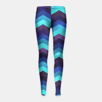 Thumbnail image of Up and hope Girl's Leggings, Live Heroes