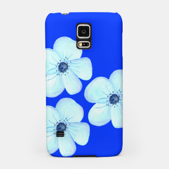 Thumbnail image of Cornflower Blue Watercolor Flower Floral - DESIGN -  Samsung Case, Live Heroes
