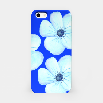 Thumbnail image of Cornflower Blue Watercolor Flower Floral - DESIGN -  iPhone Case, Live Heroes