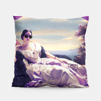 Thumbnail image of Portrait of Princess Leonilla Pillow, Live Heroes