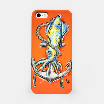 Thumbnail image of squid iPhone Case, Live Heroes