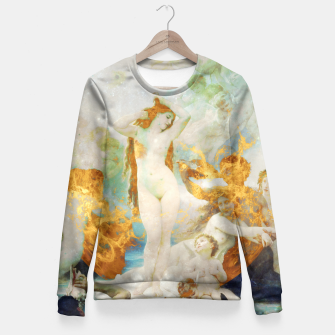 Thumbnail image of The Birth of Venus Fitted Waist Sweater, Live Heroes