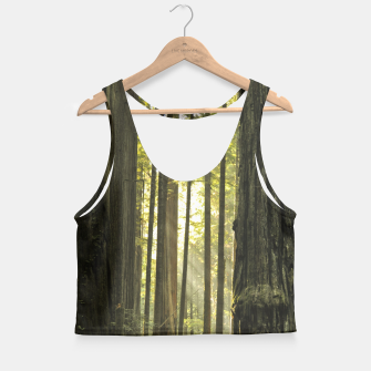 Thumbnail image of Into the woods Crop Top, Live Heroes
