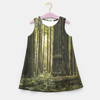 Into the woods Girl's Summer Dress thumbnail image