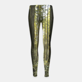 Into the woods Girl's Leggings thumbnail image