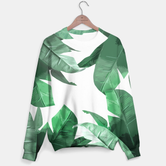Thumbnail image of Tropical Palm Sweater, Live Heroes