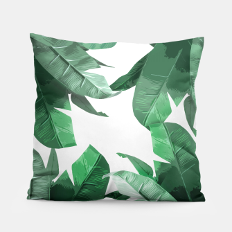 Thumbnail image of Tropical Palm Pillow, Live Heroes