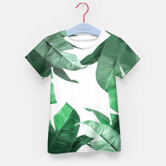 Thumbnail image of Tropical Palm Kid's T-shirt, Live Heroes