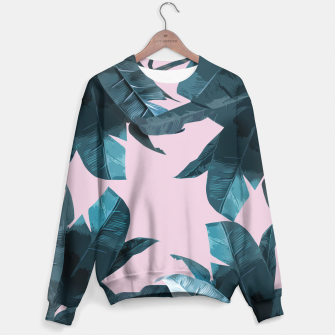 Thumbnail image of Tropical Palm #2 Sweater, Live Heroes