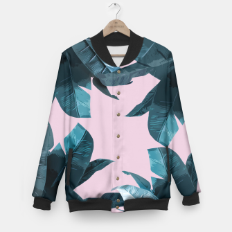 Thumbnail image of Tropical Palm #2 Baseball Jacket, Live Heroes