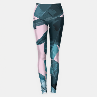 Thumbnail image of Tropical Palm #2 Leggings, Live Heroes