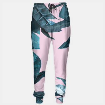 Thumbnail image of Tropical Palm #2 Sweatpants, Live Heroes