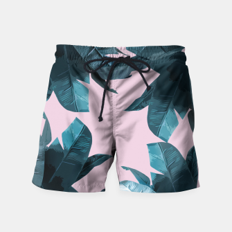 Thumbnail image of Tropical Palm #2 Swim Shorts, Live Heroes