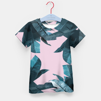 Thumbnail image of Tropical Palm #2 Kid's T-shirt, Live Heroes