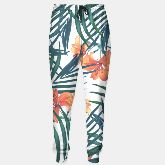 Thumbnail image of Tropical Lilies Sweatpants, Live Heroes