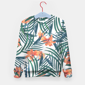 Tropical Lilies Kid's Sweater thumbnail image