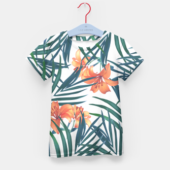 Thumbnail image of Tropical Lilies Kid's T-shirt, Live Heroes
