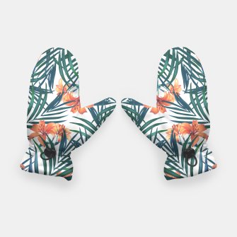 Thumbnail image of Tropical Lilies Gloves, Live Heroes