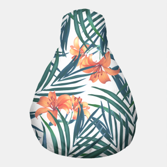 Thumbnail image of Tropical Lilies Pouf, Live Heroes