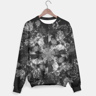 Thumbnail image of Botanical Darkness Kaleidoscope Sweater, Live Heroes