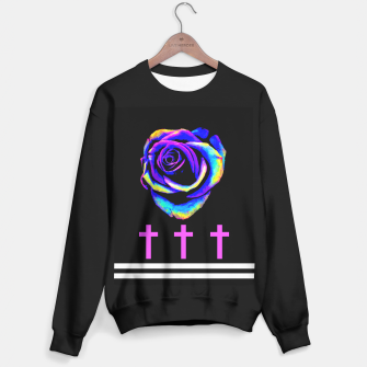 Thumbnail image of Đeath Flowers Sweater regular, Live Heroes