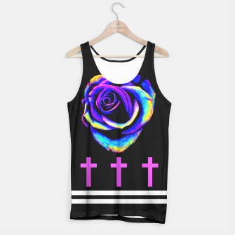 Thumbnail image of Đeath Flowers Tank Top, Live Heroes