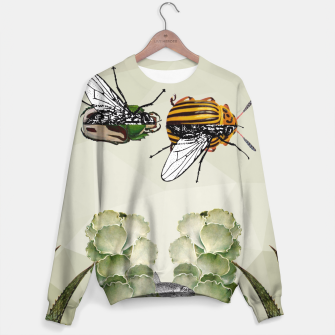 Thumbnail image of BEETLES AND FLIES Sweater, Live Heroes