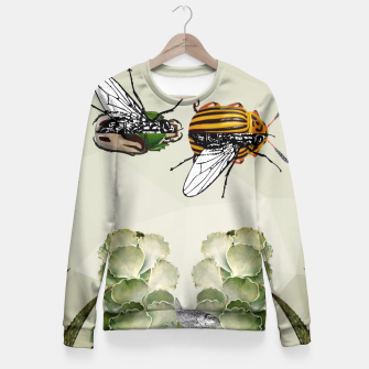 Thumbnail image of BEETLES AND FLIES Fitted Waist Sweater, Live Heroes