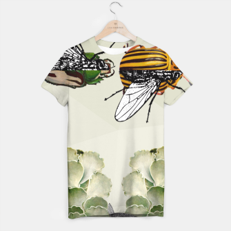Thumbnail image of BEETLES AND FLIES T-shirt, Live Heroes