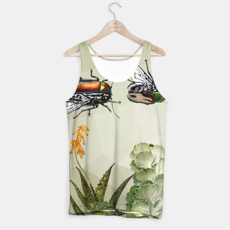 Thumbnail image of BEETLES AND FLIES Tank Top, Live Heroes