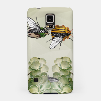 Thumbnail image of BEETLES AND FLIES Samsung Case, Live Heroes