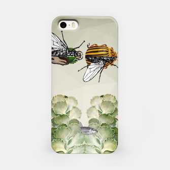 Thumbnail image of BEETLES AND FLIES iPhone Case, Live Heroes