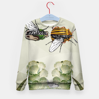 Thumbnail image of BEETLES AND FLIES Kid's Sweater, Live Heroes