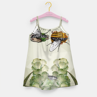 Thumbnail image of BEETLES AND FLIES Girl's Dress, Live Heroes
