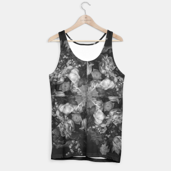 Thumbnail image of Botanical Darkness Kaleidoscope Tank Top, Live Heroes
