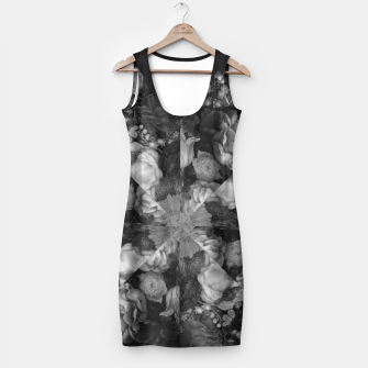 Thumbnail image of Botanical Darkness Kaleidoscope Simple Dress, Live Heroes
