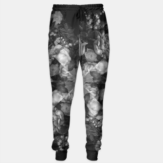 Thumbnail image of Botanical Darkness Kaleidoscope Sweatpants, Live Heroes