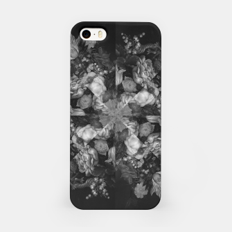 Botanical Darkness Kaleidoscope iPhone Case thumbnail image
