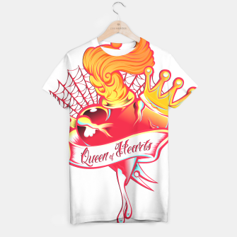 Thumbnail image of Queen of Hearts Camiseta, Live Heroes