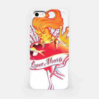 Thumbnail image of Queen of Hearts Carcasa por Iphone, Live Heroes