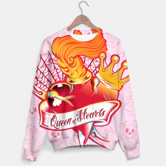 Thumbnail image of Queen of Hearts Sudadera, Live Heroes