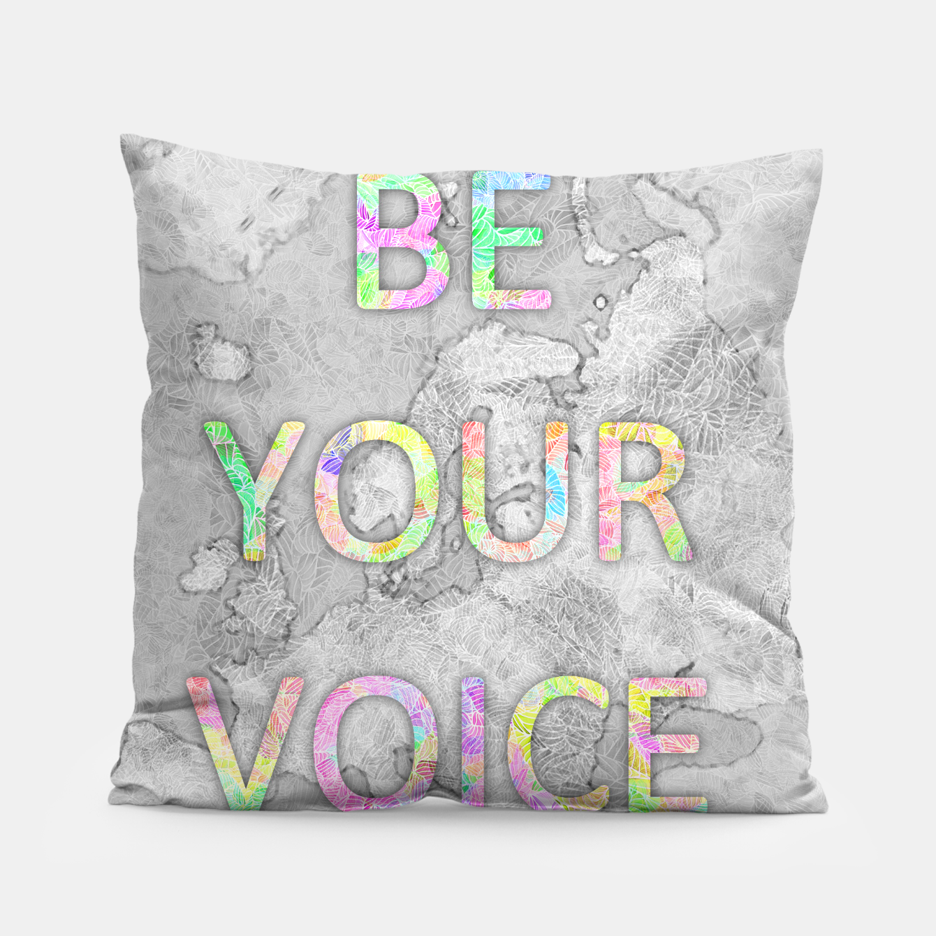 Image of byi_byv Pillow - Live Heroes