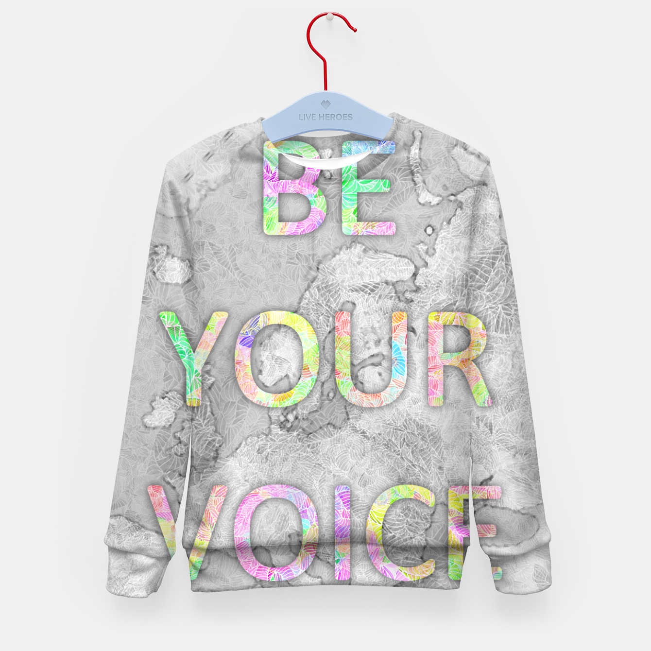 Image of byi_byv Kid's Sweater - Live Heroes